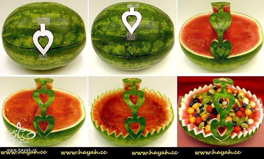 طريقة عمل سلة فواكه من البطيخ بالخطوات المصورة لعيونكم hayahcc_1364826866_760.jpg