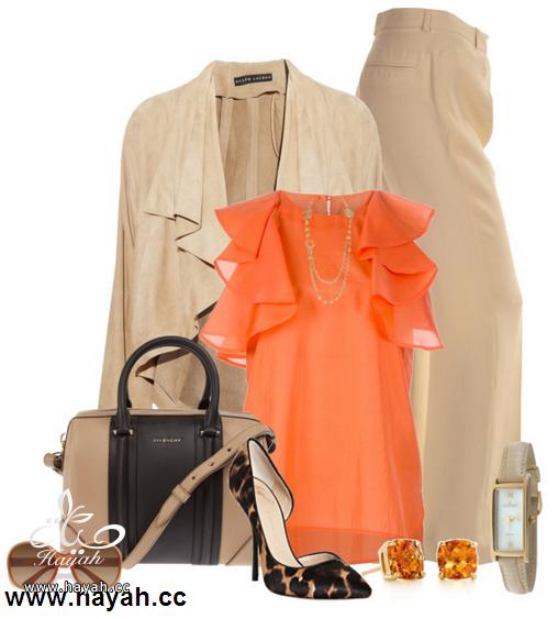 لمحبي اللون البرتقالي , تشكيلة ازياء واكسسوارت لاحلى صبايا hayahcc_1364995990_424.png