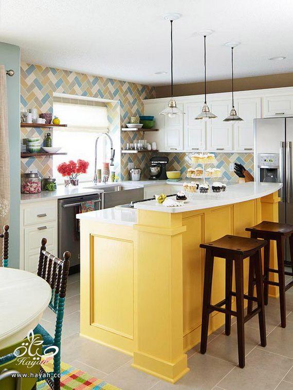 مجموعة متنوعة للمطابخ العصرية الملونة hayahcc_1367311750_340.jpg