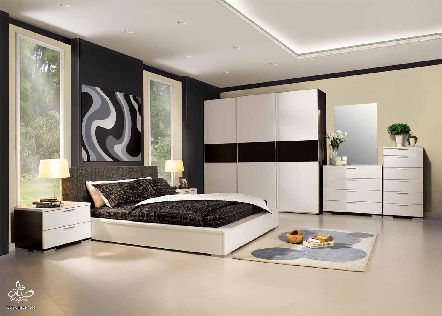 تصاميم غرف نوم هادئه