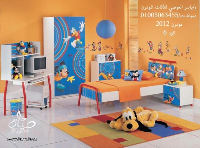 غرف نوم اطفال مودرن