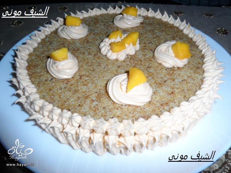 كنافة بالمانجة من مطبخ الشيف مونى بالصور hayahcc_1375218265_862.jpg
