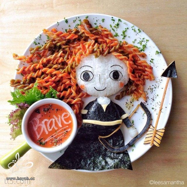 أطباق بلمسة فنية من أم لأبنتها hayahcc_1382653640_201.jpg
