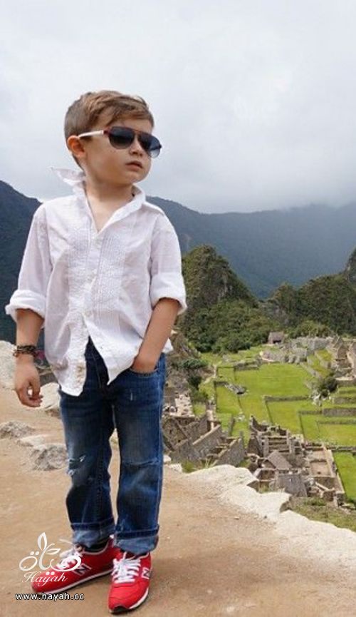اجمل طفل في العالم تستخدمه اكبر شركات الموضة hayahcc_1385340575_174.jpg