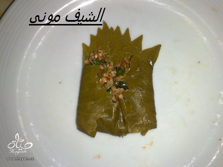 محشى ورق عنب للمبتدئات من مطبخ الشيف مونى بالصور hayahcc_1397297763_869.jpg