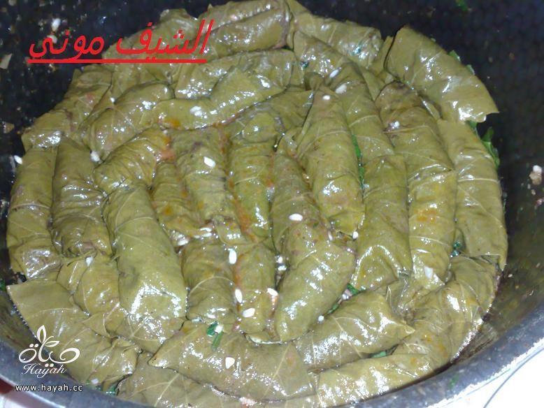 محشى ورق عنب للمبتدئات من مطبخ الشيف مونى بالصور hayahcc_1397297764_854.jpg