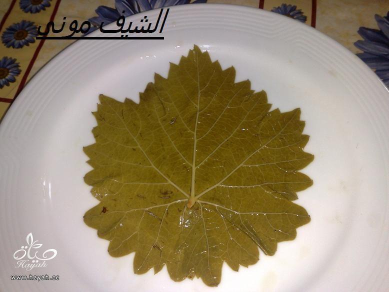 محشى ورق عنب للمبتدئات من مطبخ الشيف مونى بالصور hayahcc_1397297768_373.jpg