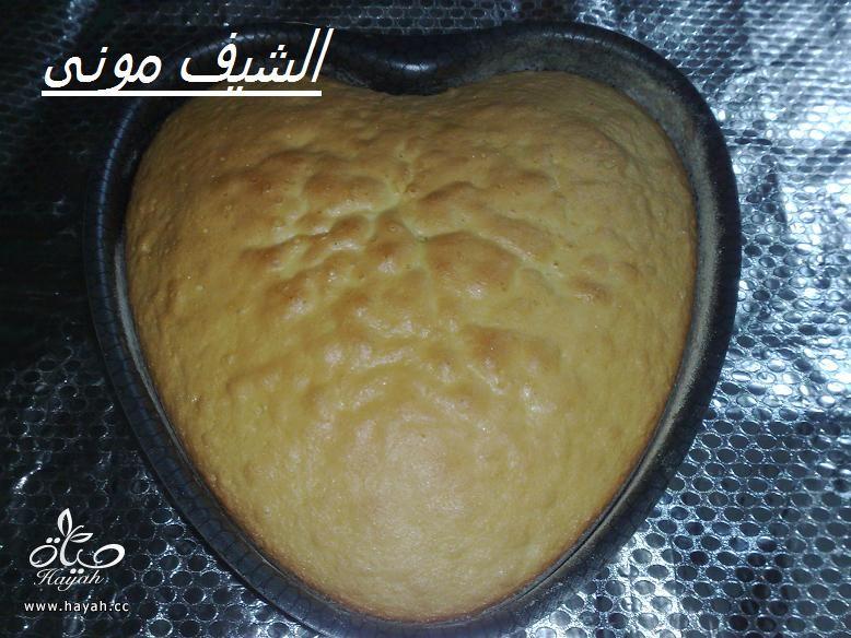 تورتة السبت ووردات الفوندان الملونة من مطبخ الشيف مونى بالصور hayahcc_1398602849_748.jpg