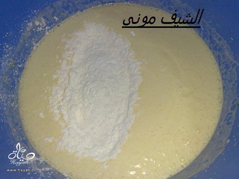 تورتة السبت ووردات الفوندان الملونة من مطبخ الشيف مونى بالصور hayahcc_1398602849_959.jpg