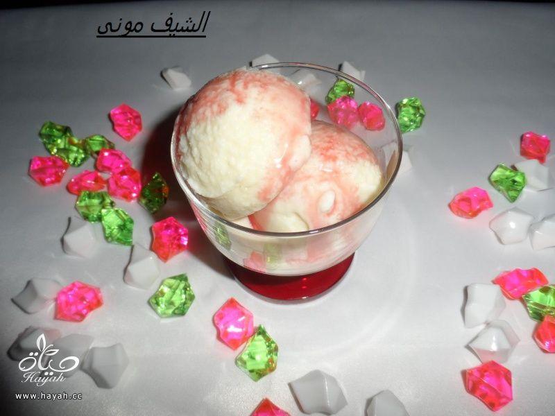 ايس كريم الفانيليا من مطبخ الشيف مونى بالصور hayahcc_1400846241_861.jpg