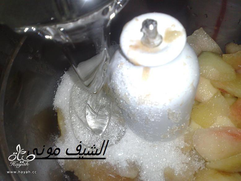 ايس كريم الخوخ وسوربيه الخوخ من مطبخ الشيف مونى بالصور hayahcc_1402576207_487.jpg