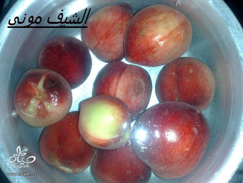 ايس كريم الخوخ وسوربيه الخوخ من مطبخ الشيف مونى بالصور hayahcc_1402576208_513.jpg