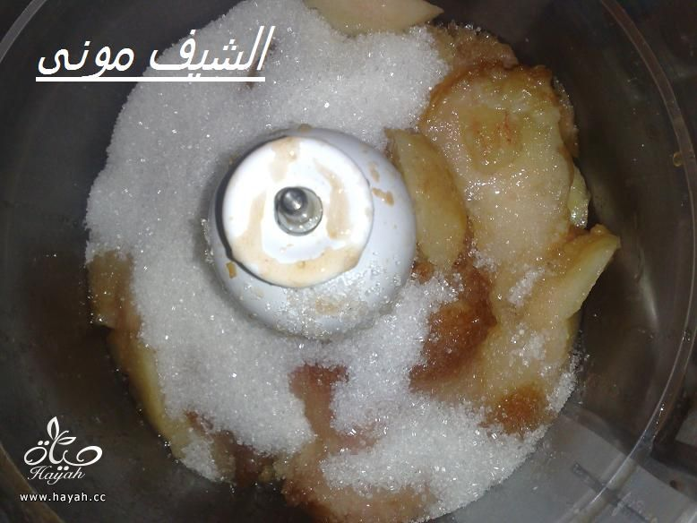 ايس كريم الخوخ وسوربيه الخوخ من مطبخ الشيف مونى بالصور hayahcc_1402576210_768.jpg
