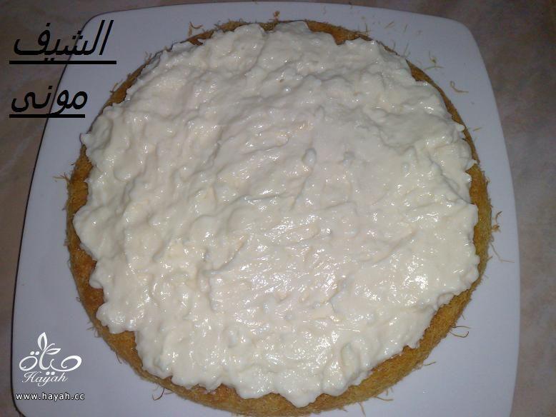 الكنافة العثملية بالقشطة من مطبخ الشيف مونى بالصور hayahcc_1404656040_238.jpg