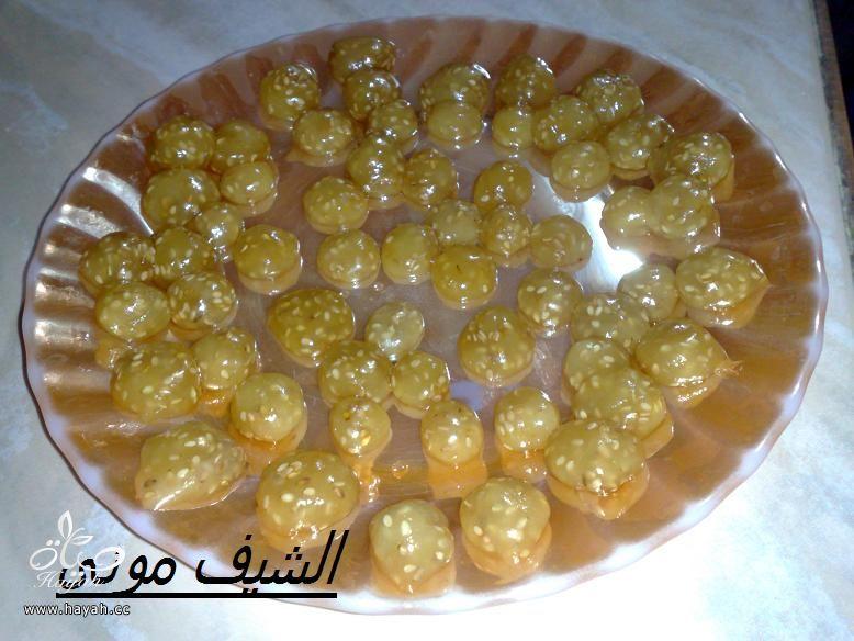 معمول السميد بالعجمية من مطبخ الشيف مونى بالصور hayahcc_1405944181_102.jpg