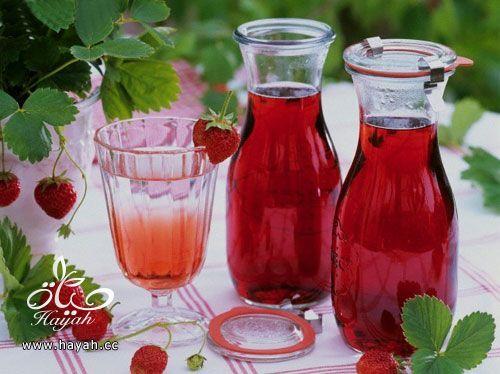 عصير ليموناد بالبطيخ والفرولة hayahcc_1406361879_2