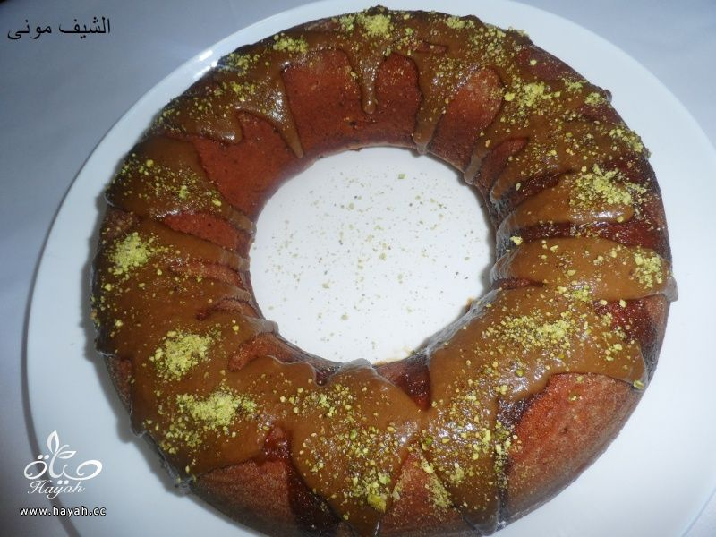 كيكة النسكافيه بأحلى وابسط تزيين من مطبخ الشيف مونى بالصور hayahcc_1410177687_295.jpg