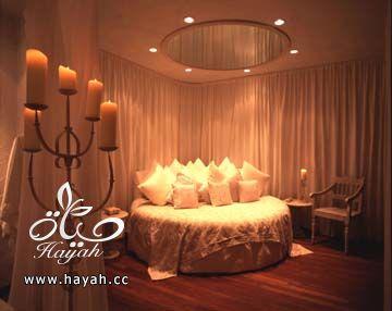 سراير لغرف النوم دائرية  , سراير بيضاء اللون hayahcc_1410440615_699.jpg