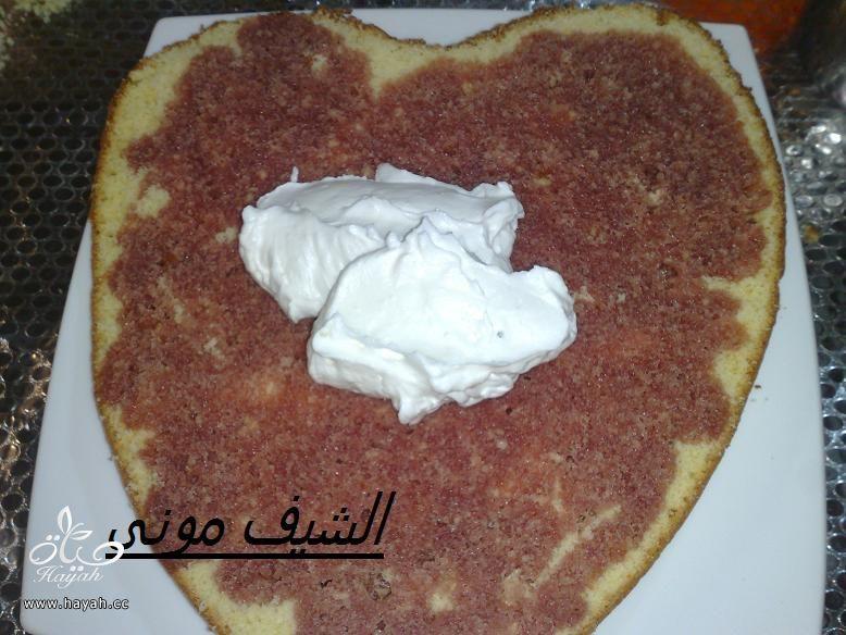 تورتة بصوص الشوكولاته البيضاء والفراولة للمبتدئات من مطبخ الشيف مونى بالصور hayahcc_1415353887_183.jpg