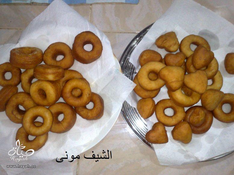 الدوناتس الجميل والسهل من مطبخ الشيف مونى بالصور hayahcc_1421240699_605.jpg