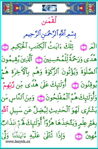 تحميل القرآن الكريم كاملا لهواتفكم وحواسيبكم بصيغة pdf hayahcc_1421938451_874.png