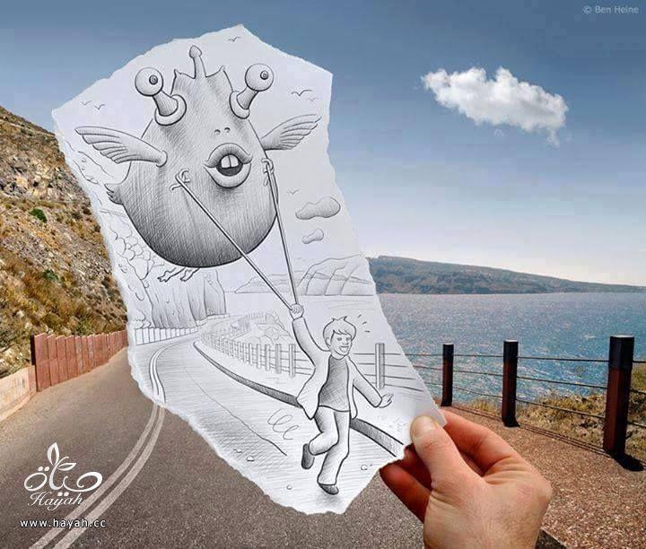 تعرفي على أروع رسومات بالدمج مع التصوير hayahcc_1424857490_495.jpg