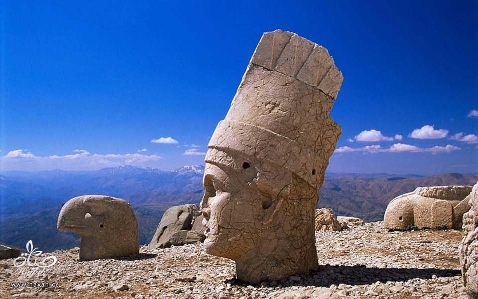 """أغرب الأماكن في تركيا """" جبل النمرود """" hayahcc_1426324347_255.jpg"""