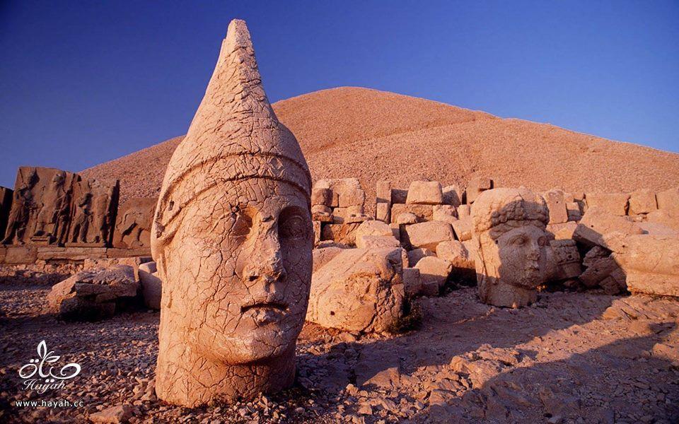 """أغرب الأماكن في تركيا """" جبل النمرود """" hayahcc_1426324348_333.jpg"""
