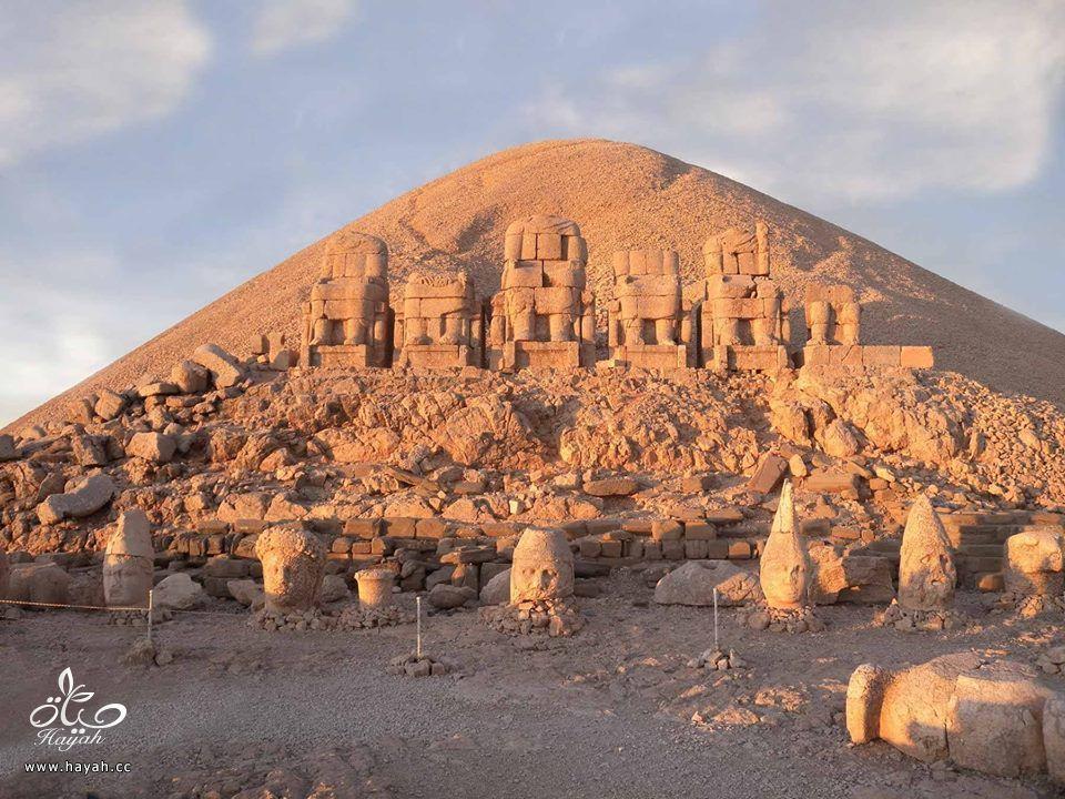 """أغرب الأماكن في تركيا """" جبل النمرود """" hayahcc_1426324348_460.jpg"""