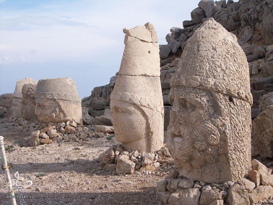 """أغرب الأماكن في تركيا """" جبل النمرود """" hayahcc_1426324349_627.jpg"""