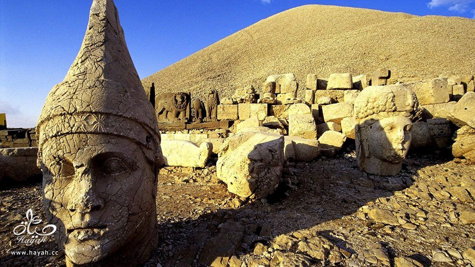 """أغرب الأماكن في تركيا """" جبل النمرود """" hayahcc_1426324349_898.jpg"""