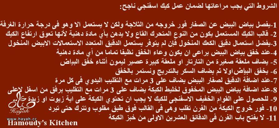 شروط  نجاح الكيك الاسفنجي hayahcc_1427614728_261.jpg