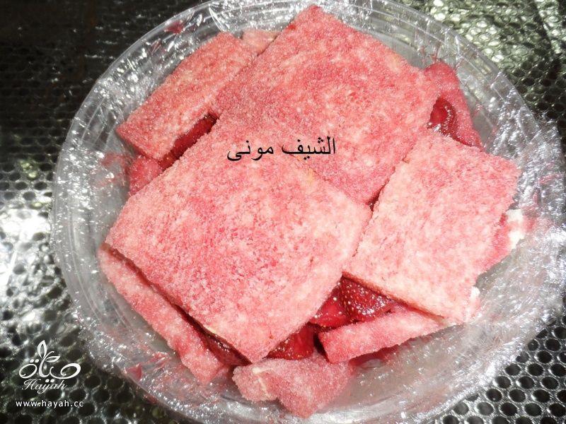 بودينج الفراولة من مطبخ الشيف مونى بالصور hayahcc_1430390749_655.jpg