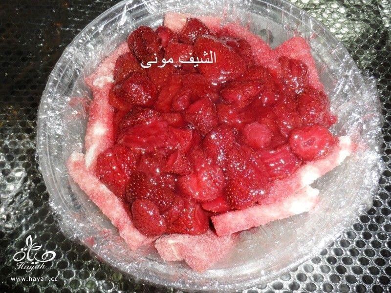 بودينج الفراولة من مطبخ الشيف مونى بالصور hayahcc_1430390754_367.jpg