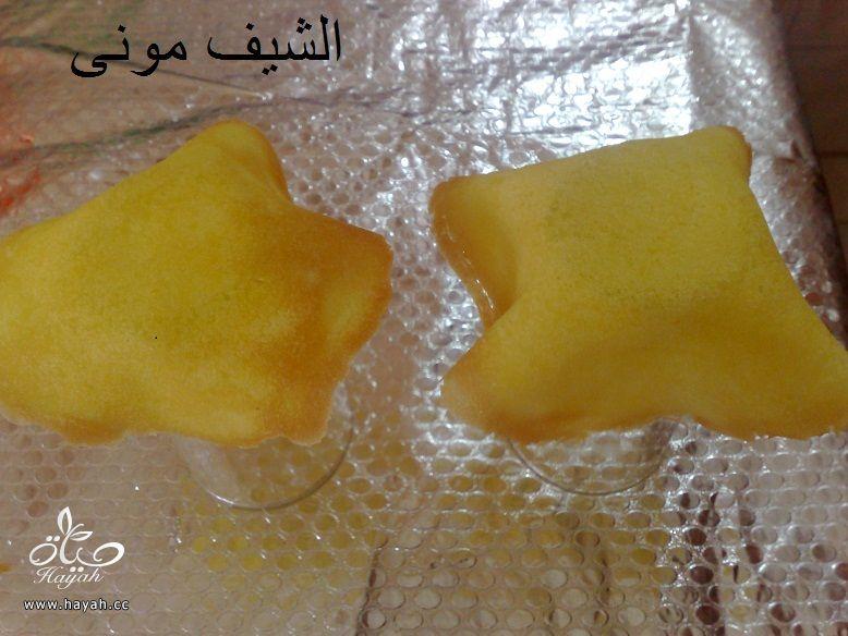 طريقة بسكويت الايس كريم وايس كريم الليمون من مطبخ الشيف مونى بالصور hayahcc_1431176099_569.jpg