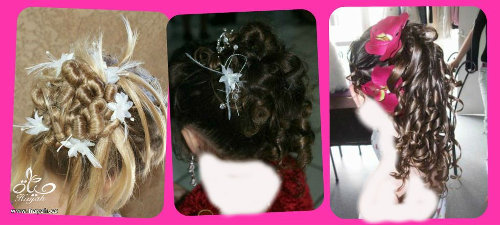 تسريحات شعر اطفال للاعراس طريقة تسريحة شعر للاطفال سهله للافراح والمناسبات hayahcc_1431372848_781.jpg