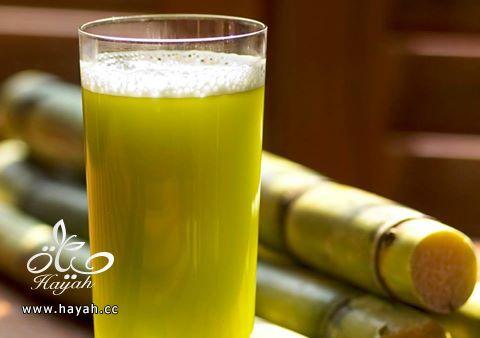 أسهل طريقة لاعداد عصير قصب السكر hayahcc_1431881587_510.jpg