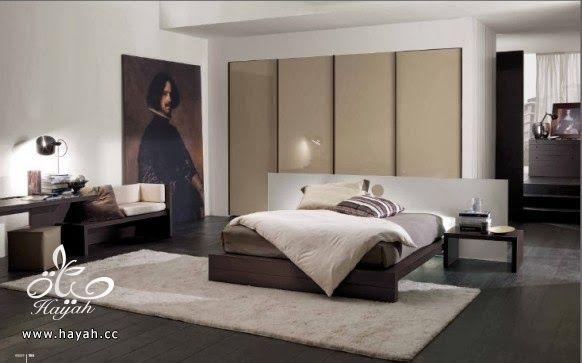 غرف نوم رقيقة - غرف مودرن باللون الاسود والابيض hayahcc_1431935924_529.jpg