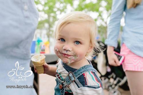 أجمل الأطفال أثناء تناول البوظة hayahcc_1432193210_293.jpg