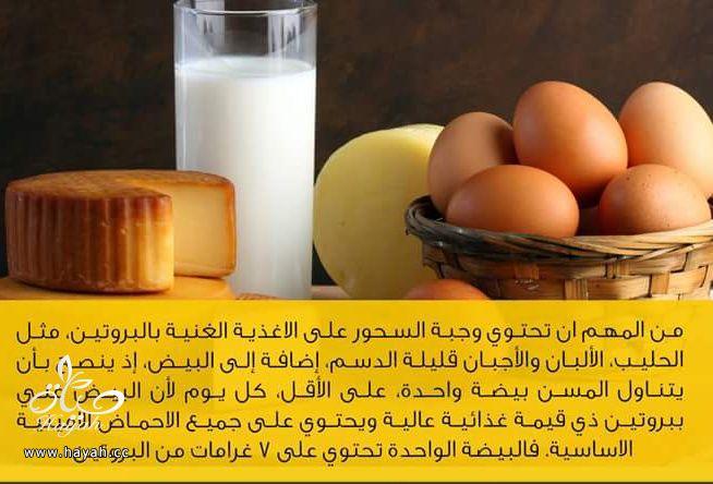 تناولي البيض في السحور hayahcc_1435130759_594.jpg