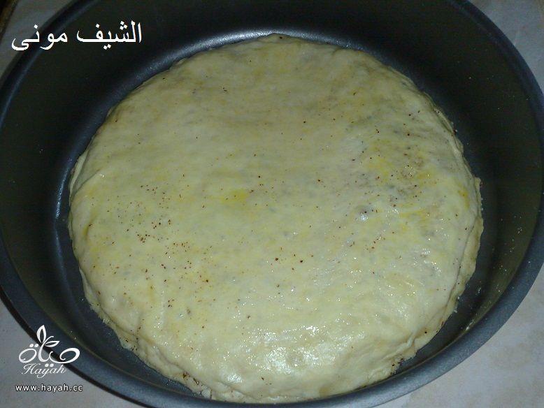 بنت الصحن بالبندق وعسل النحل من مطبخ الشيف مونى بالصور hayahcc_1435700663_189.jpg