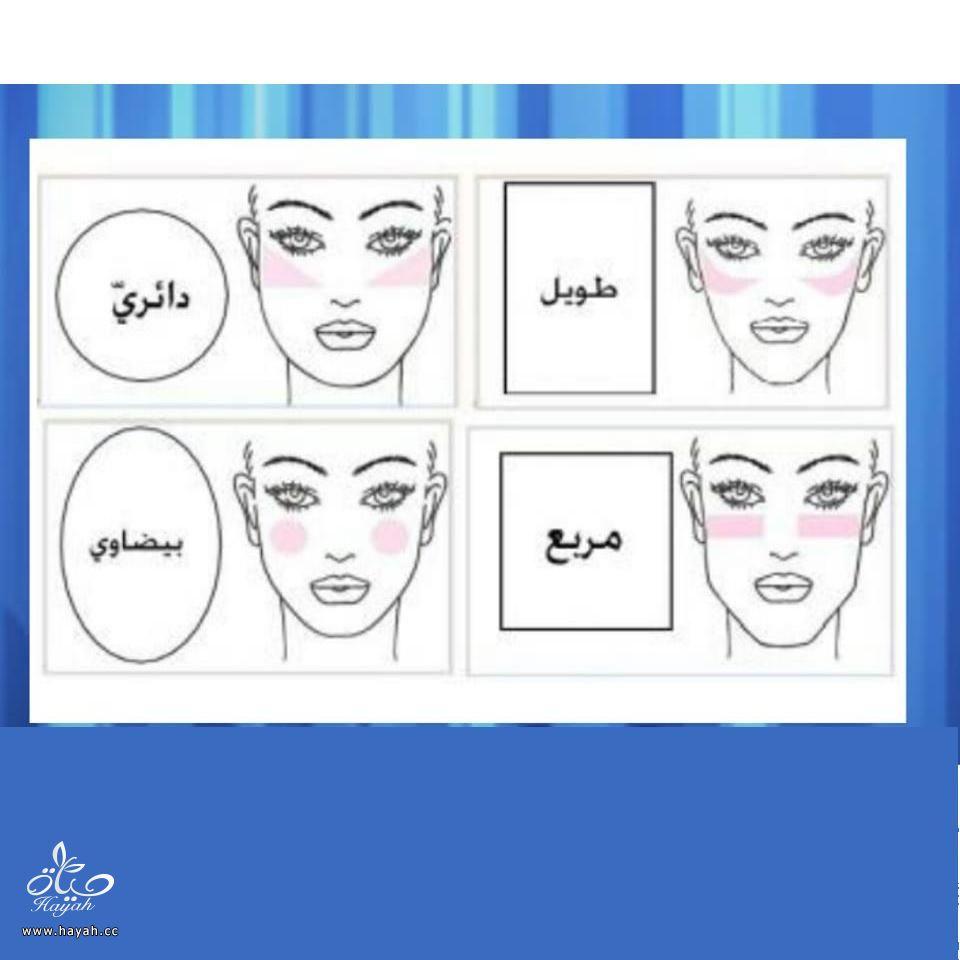 كيف تستعملين ماكياج الخدود حسب شكل وجهك بالصور hayahcc_1439391325_181.jpg