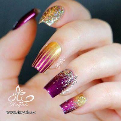 طلاء أظافر العروس رومنسي و جميل hayahcc_1440633144_660.jpg