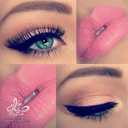 مكياج عيون وشفاه جميل hayahcc_1441045539_390.jpg