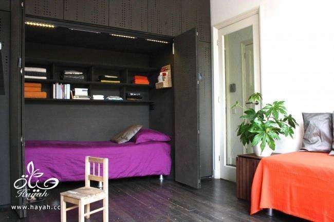 استغلال المساحة الصغيرة في غرفة النوم hayahcc_1441921044_997.jpg