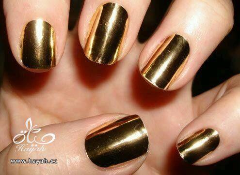 مناكير باللون الذهبي hayahcc_1442075005_426.jpg