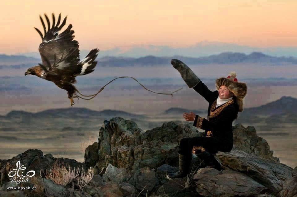 أول مرة حتشوف أطفال منغوليا مع حيواناتهم hayahcc_1442632982_420.jpg