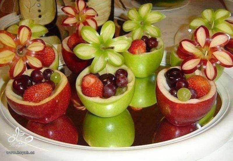 تفاح مقطع بطريقة فنية hayahcc_1442747650_531.jpg