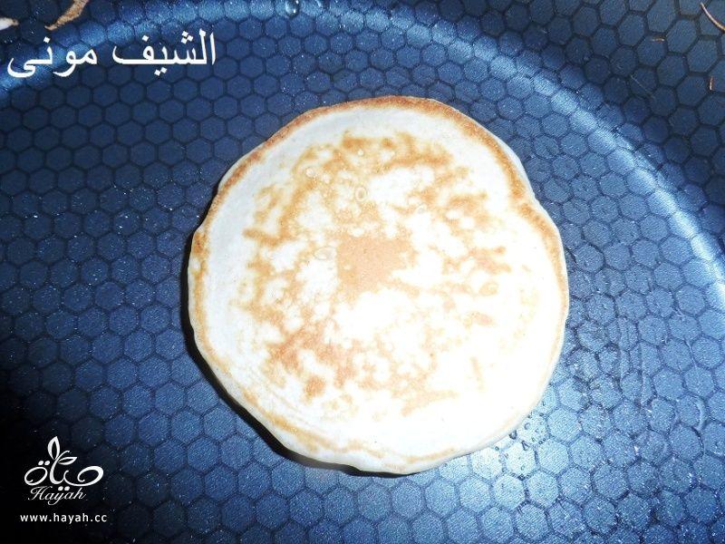 البان كيك بعسل النحل والشوكليت شيبس من مطبخ الشيف مونى بالصور hayahcc_1446211193_652.jpg