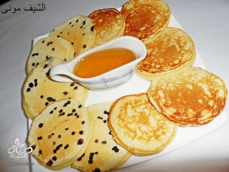 البان كيك بعسل النحل والشوكليت شيبس من مطبخ الشيف مونى بالصور hayahcc_1446211194_163.jpg
